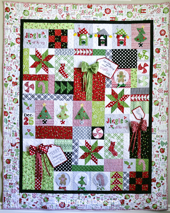 Jingle All The Way Sewing Pattern Book Kimberbell Designs
