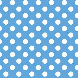 MASF8227-BW LITTLE ONE FLANNEL TOO! DOTS