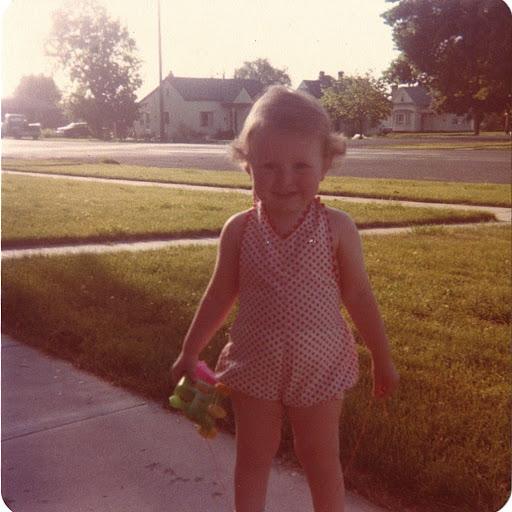 Jenny as a child