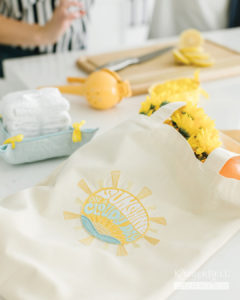 Sunshine on a Cloudy Day Tote