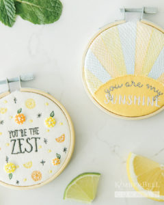 Hoops: You're the Zest and You Are My Sunshine