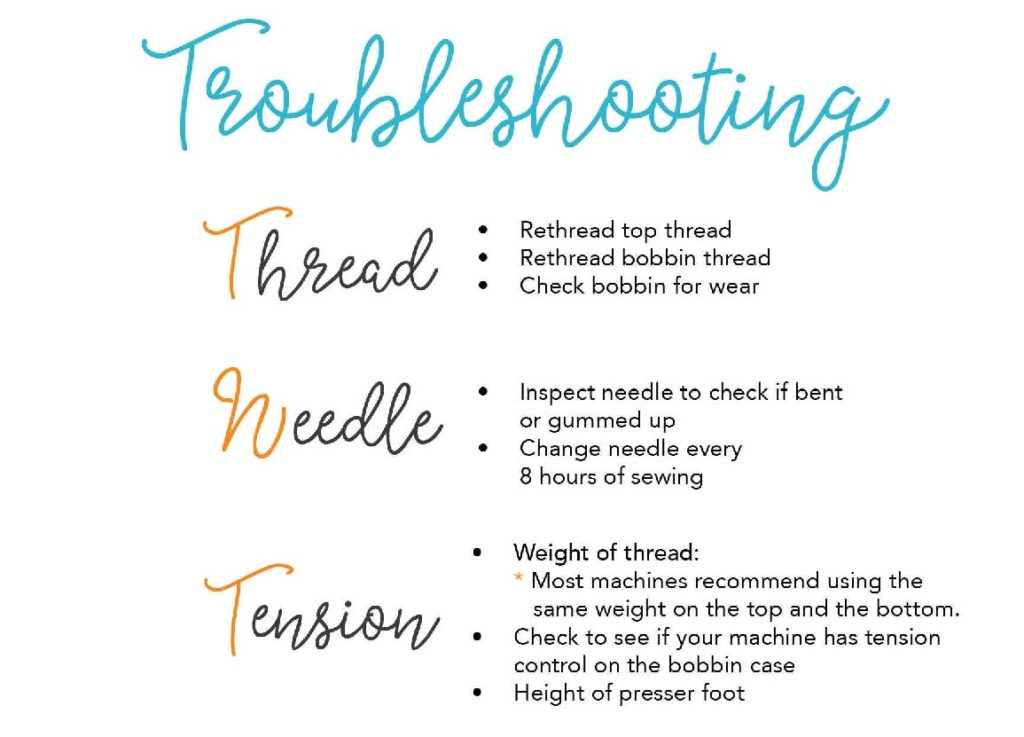 Thread Needle and Tension Graphic