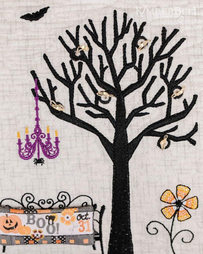 Twilight Boo-levard Bench and Tree