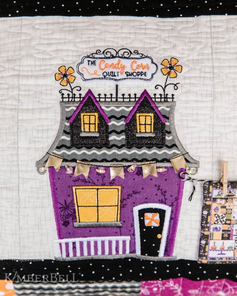 Twilight Boo-levard Candy Corn Quilt Shoppe