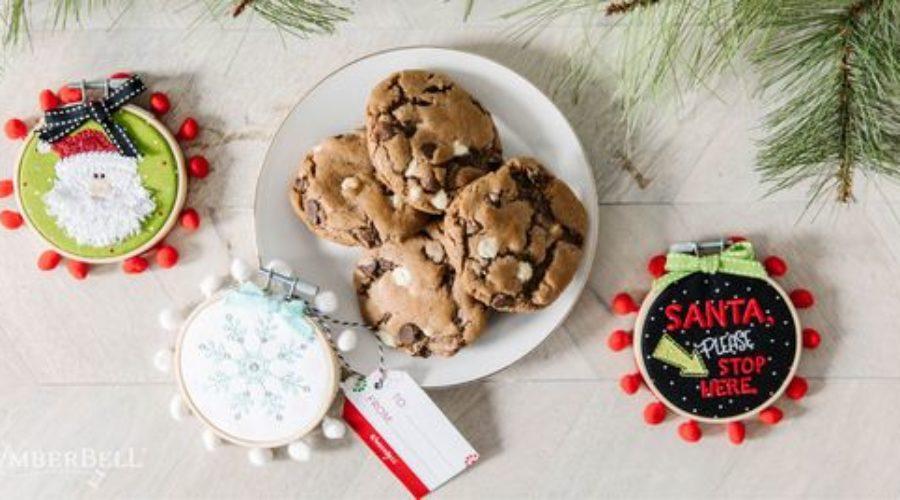 Happy Hoops & Hot Chocolate Cookies