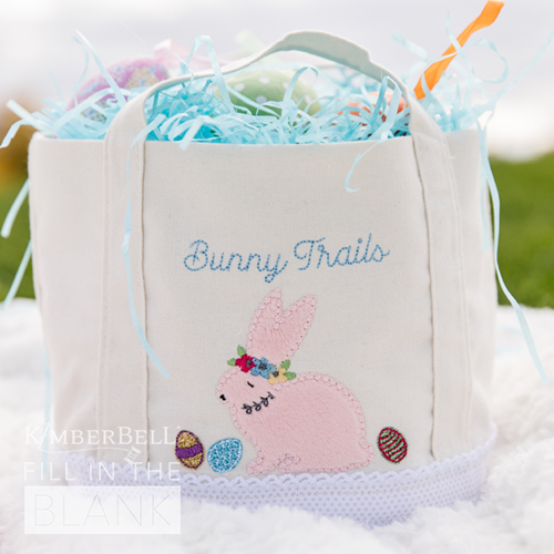 FITB- March Bunny Busket