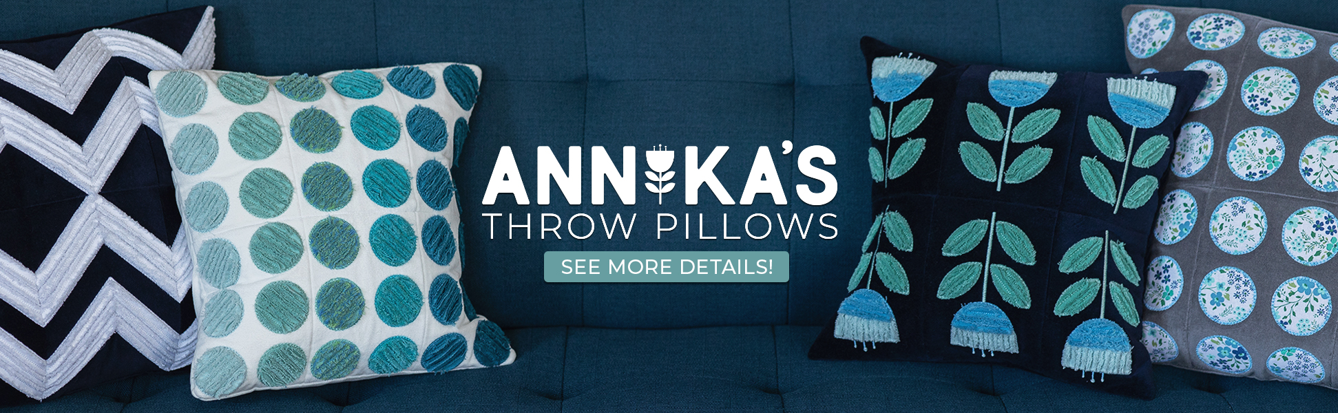 Annika's Throw Pillows