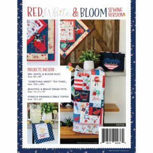 Red, White & Bloom, Sewing