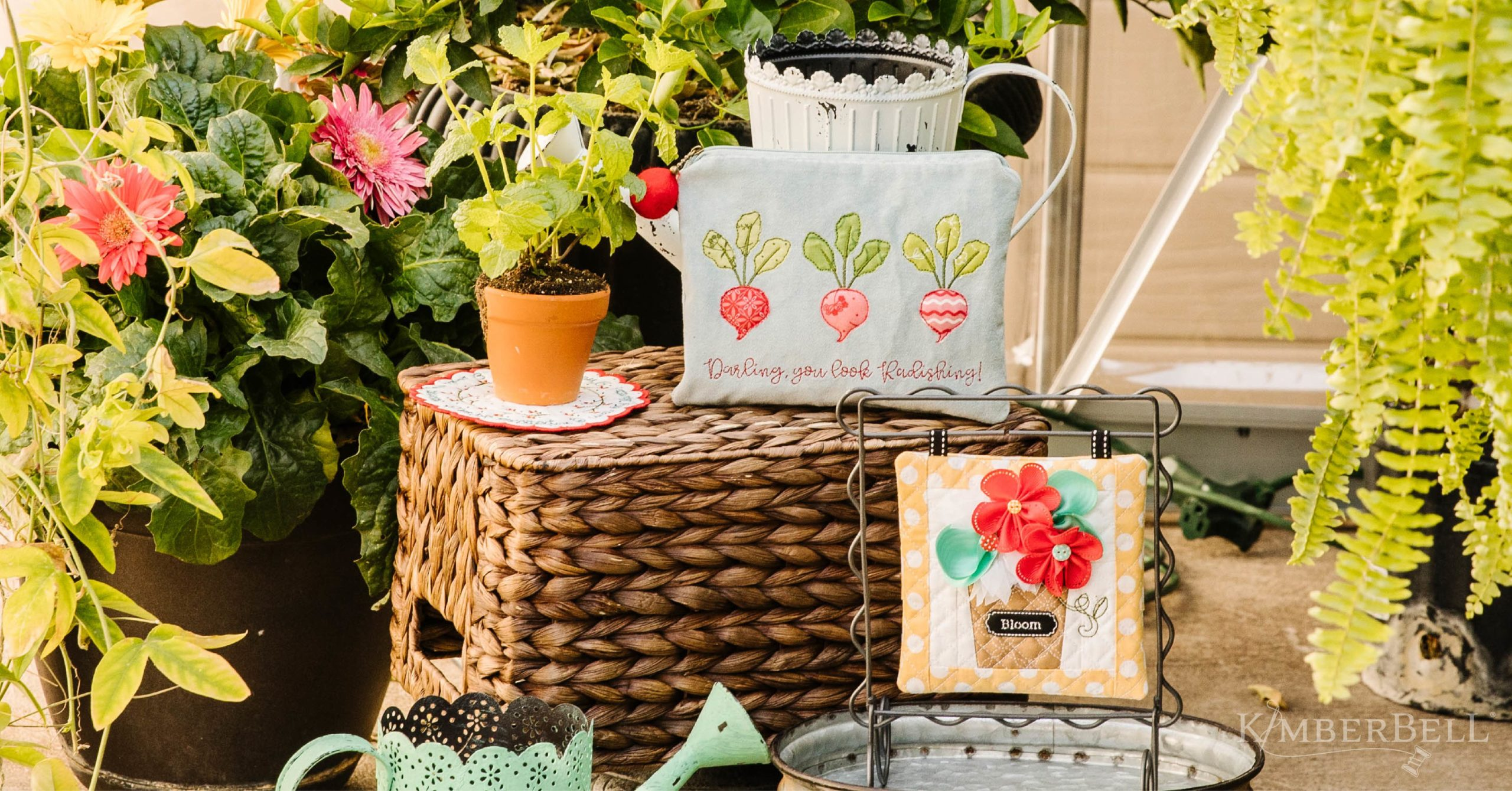 The Garden Guild One-Day Machine Embroidery Event from Kimberbell