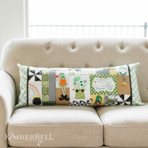 Luck O' the Gnome Bench Pillow, Sewing