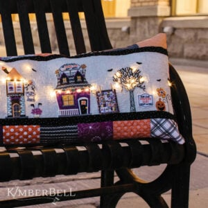 Twilight Boo-levard Bench Pillow, Sewing