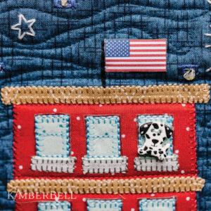 Main Street Celebration Bench Pillow, Sewing