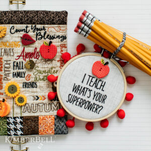 Buttons Always in Season Machine Embroidery Design