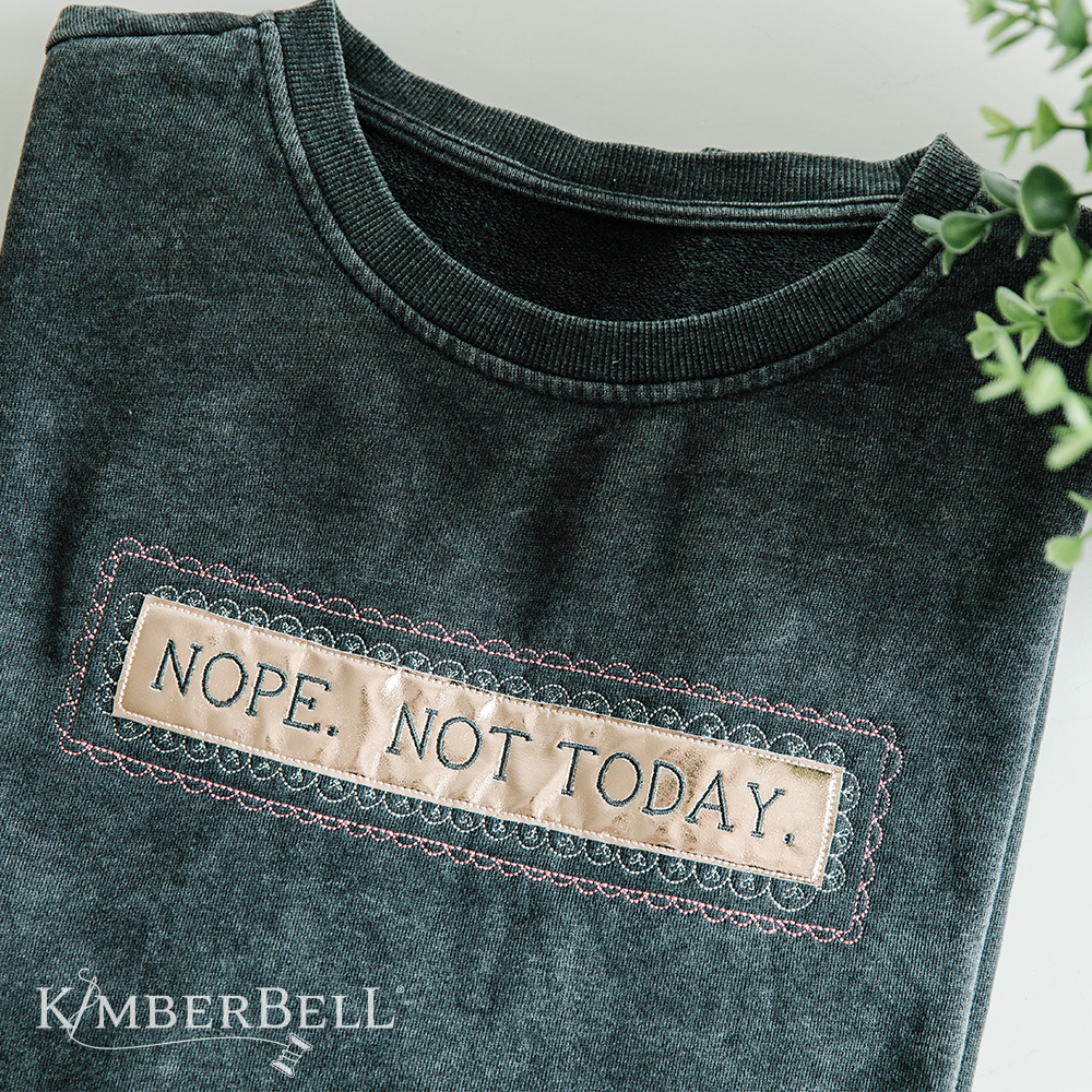 Sweet and Snarky Machine Embroidery Designs