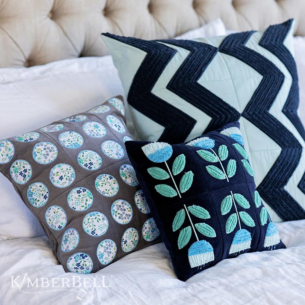 Annika's Throw Pillows Machine Embroidery Design