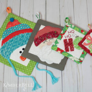 That's Sew Chenille: Christmas Hot Pads, Sewing