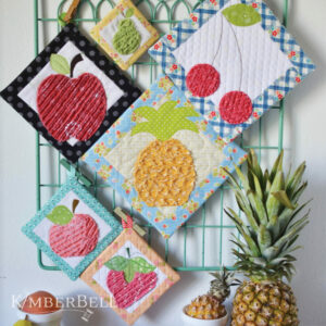 That's Sew Chenille: Fruit Stand Hot Pads, Sewing
