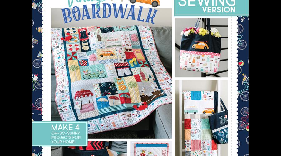 Vintage Boardwalk, Sewing
