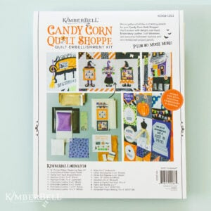 Candy Corn Quilt Shoppe, Embellishment Kit
