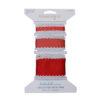 Crocheted Edge Trim, Red