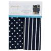 Dots & Stripes Tea Towels, Navy