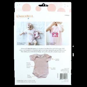 Blushing Peach Infant Bodysuit Set, 3-6 Months