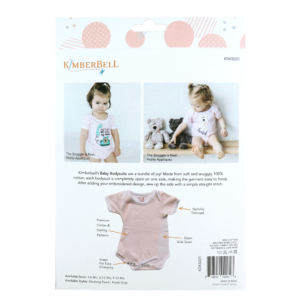 Blushing Peach Infant Bodysuit Set, 6-9 Months