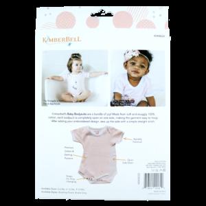 Blushing Peach Infant Bodysuit Set, 9-12 Months