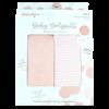 Blushing Peach Infant Bodysuit Set, 9-12 Months (RETIRED)
