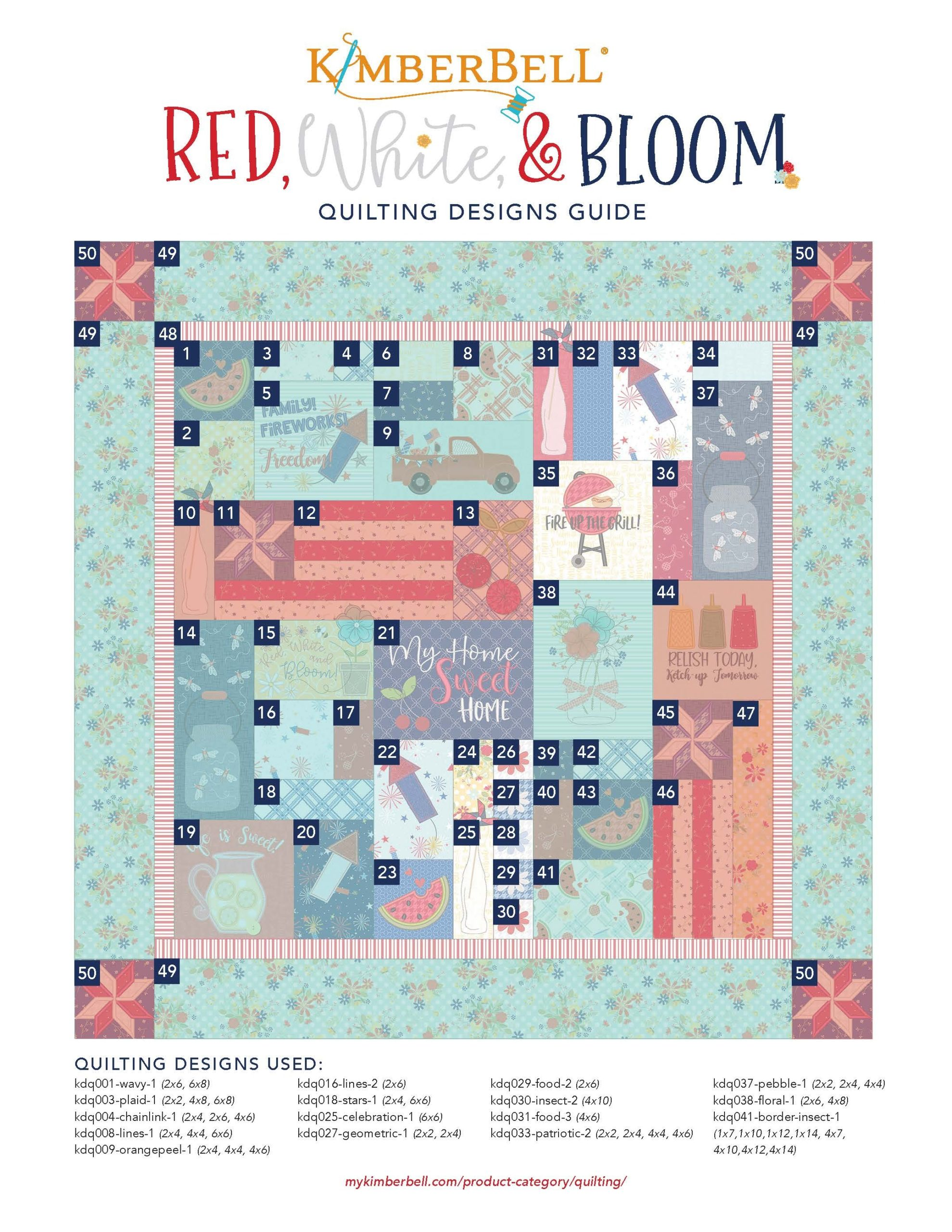 Red-White-Bloom-Quilting-Guide