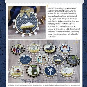 Happy Hoop Decor, Vol. 2: Christmas Nativity Ornaments