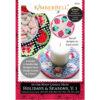 In-the-Hoop Candle Mats: Holidays & Seasons, Vol. 1, Machine Embroidery (RETIRED)