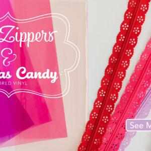 Lace Zipper 14″