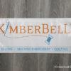 """Kimberbell Branded Vinyl Sign 24x9"""""""
