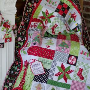 Jingle All the Way!, Machine Embroidery