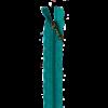 """Lace Zipper 14"""" - Sea Blue"""