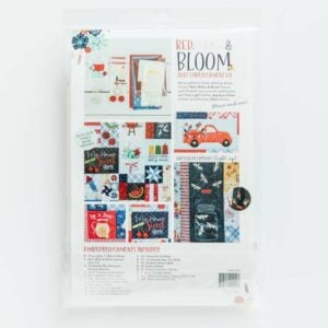 Red, White & Bloom Embellishment Bundle