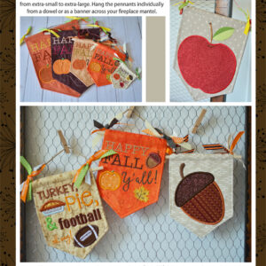 Pennants & Banners: Happy Fall Y'All