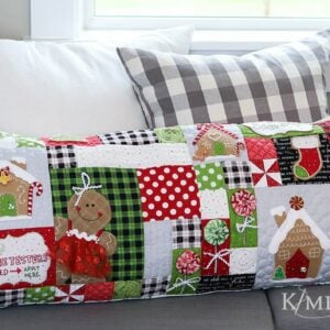 Ginger's Kitchen Bench Pillow, Sewing