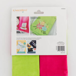Ombre Tea Towel Set, Pink and Lime