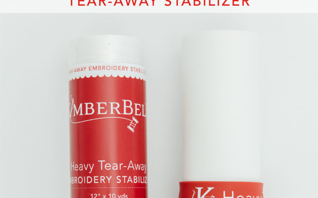 Kimberbell Stabilizer Hoop-La: It's Tear-Away Tuesday, With All You Need to Know About Machine Embroidery Tear-Away Stabilizer!