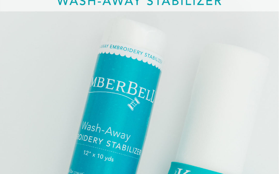 Kimberbell Stabilizer Hoop-La: It's Wash-Away Wednesday and Everything You Need to Know about Wash-Away Machine Embroidery Stabilizer!