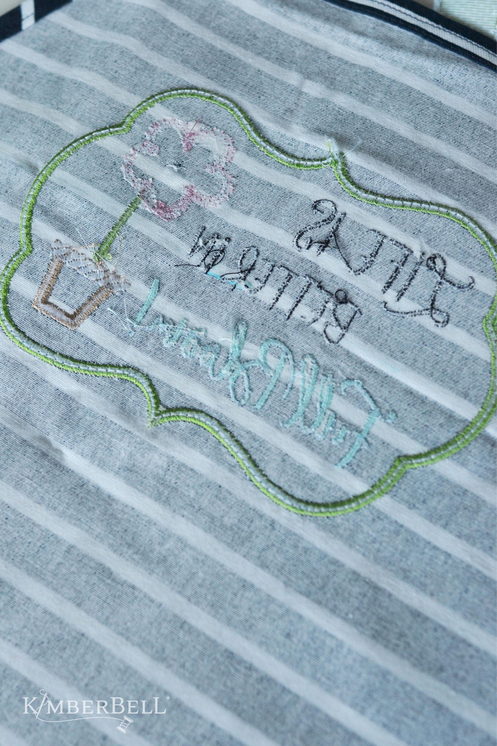 Kimberbell Tear-Away Machine Embroidery Stabilizer