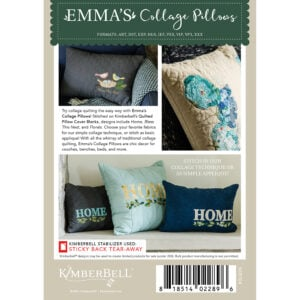 Emma's Collage Pillows