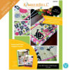 Butterfly Garden Table Runner - Machine Embroidery