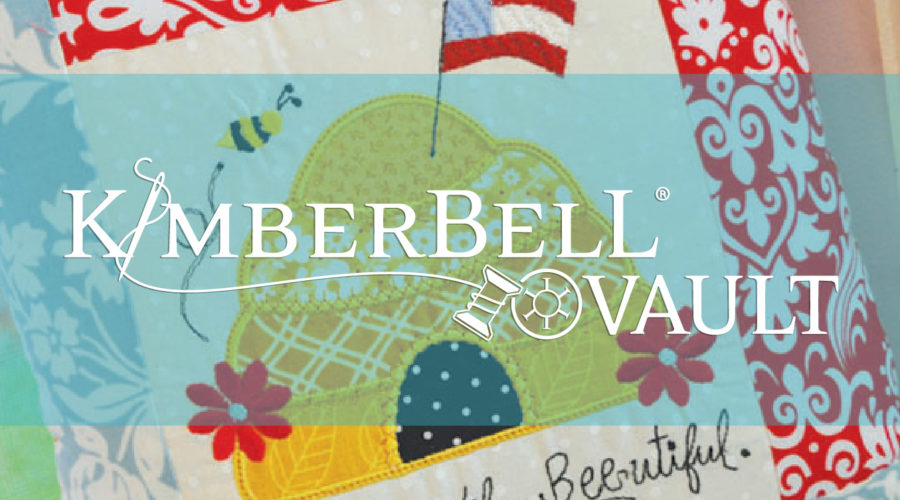 Introducing the Kimberbell Vault! Download and Stitch Classic Machine Embroidery, Sewing, and Applique Projects Today.