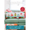 Candy Cane Lane Bench Pillow EMBROIDERY Version