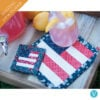 Machine Embroider by Number: American Flag