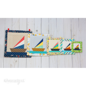 Machine Embroider by Number: Sailboat
