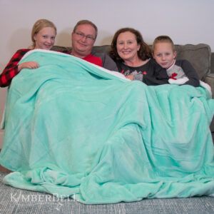 Kimberbell Sherpa Blanket